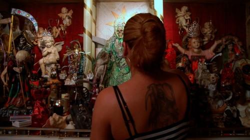 Arely Gonzalez, La Santa Muerte devotee.